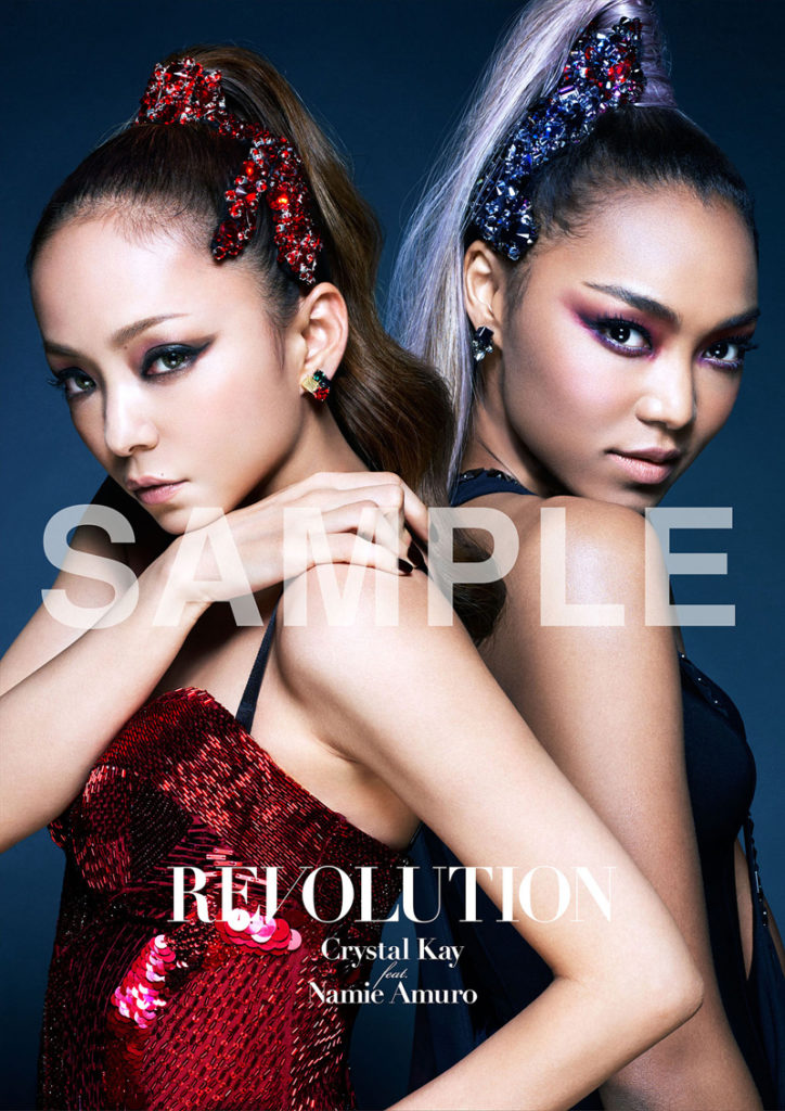 Crystal Kay、安室とのコラボシングル「REVOLUTION」 収録楽曲の詳細発表!先着特典ポスターのデザインも公開サムネイル画像