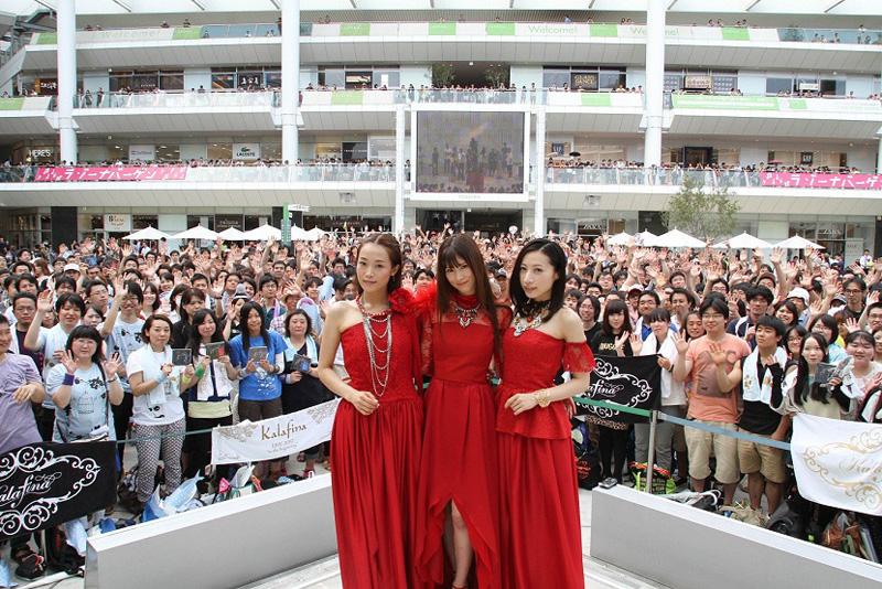 Kalafina、灼熱のラゾーナ川崎で初のベストアルバムリリース記念イベントを実施