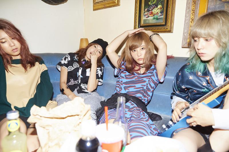 """""""ガールズバンド日本代表""""SCANDAL 新曲「Sisters」発売記念で9/9(水)ツイキャスを実施サムネイル画像"""