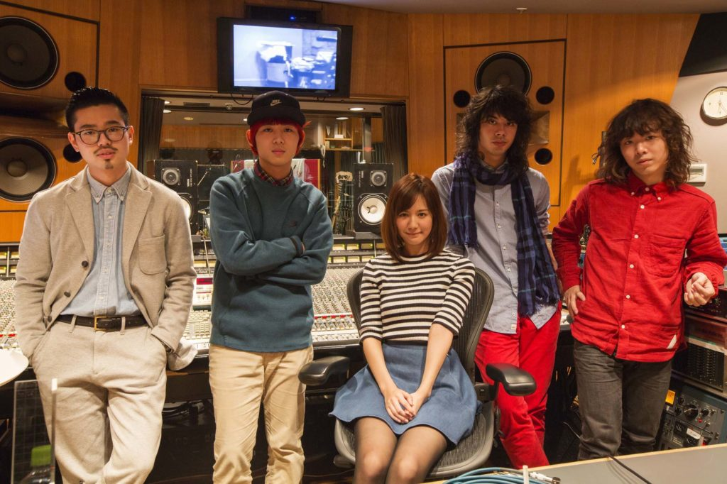 遠藤舞 Base Ball Bear、赤い公園に次ぐ3rdシングルはOKAMOTO'Sサムネイル画像