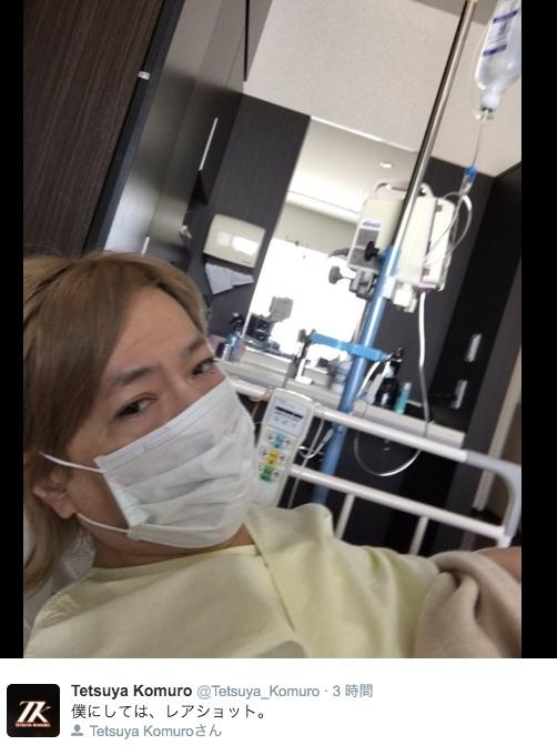 """小室哲哉、病院ベッドの上での""""レアショット""""を公開サムネイル画像"""