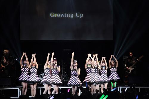 PASSPO☆ ワンマンフライト(ライブ)開催!フルバンドで新曲「Growing Up」披露サムネイル画像