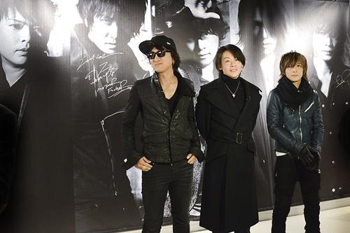 ファン歓喜!LUNA SEAがタワーレコード渋谷店にサプライズ訪問サムネイル画像