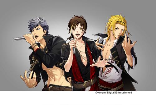 大人気ゲームアプリから誕生したアイドル『3 Majesty』と『X.I.P.』がCDデビューサムネイル画像