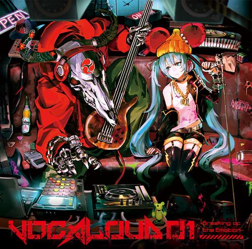 """ボカロ""""ラウドロック""""コンピCD「VOCALOUD 01」2014年3月本格始動サムネイル画像"""