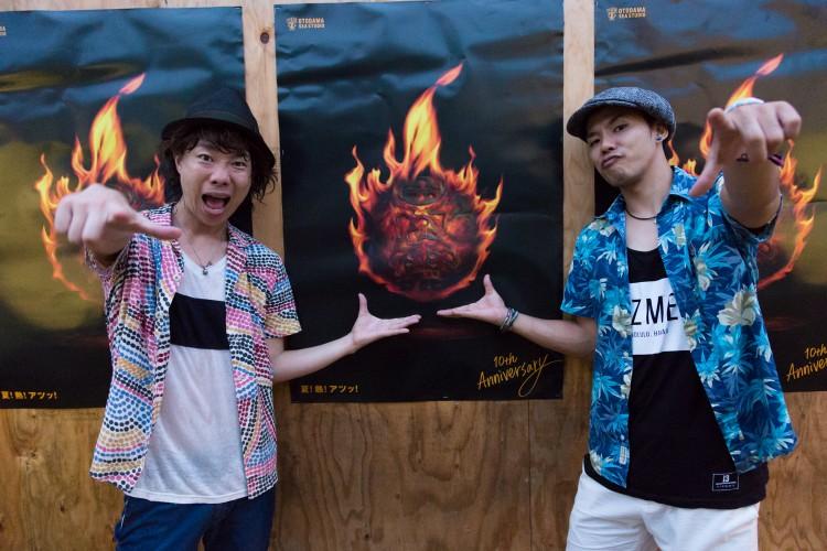 ハジ→&TEE、「OTODAMA」にてコラボ楽曲「音楽のチカラ feat.TEE」をライブ生初披露サムネイル画像