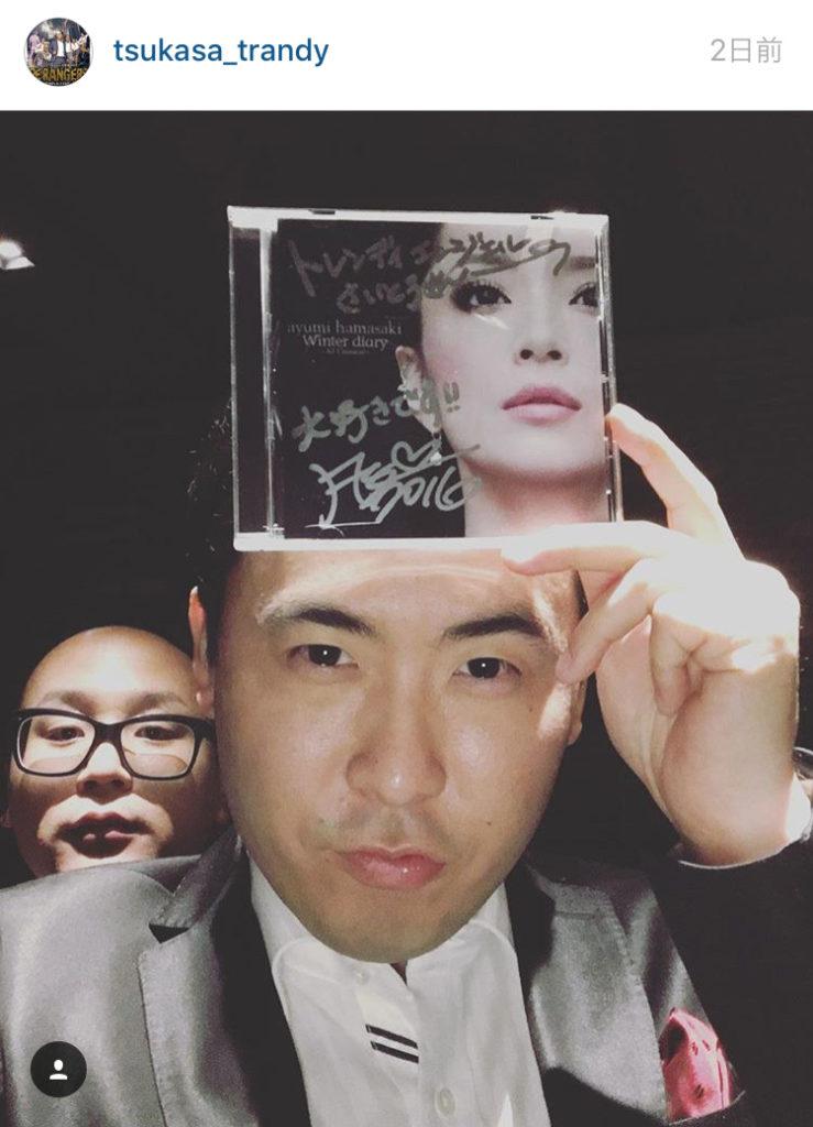 浜崎あゆみ、トレエン・斎藤とコラボ熱望。「ガクちんと斎藤さんと3人でANOTHER WORLD歌いたい」サムネイル画像