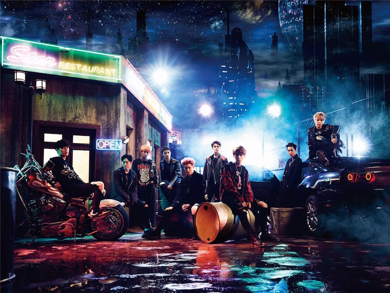 EXO待望のJAPAN 2nd SINGLE「Coming Over」音源公開サムネイル画像