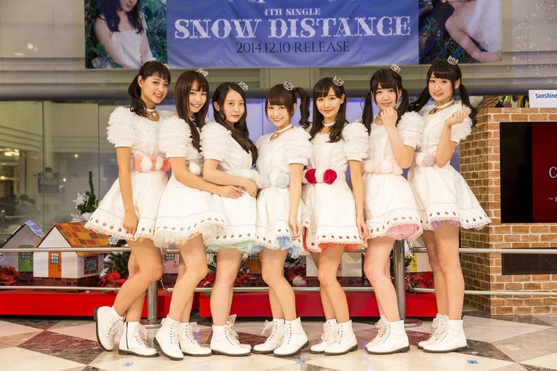 7人組アイドルユニット「palet」が池袋サンシャインシティ噴水広場にてイベント開催!ブロガーの桃がゲスト出演サムネイル画像