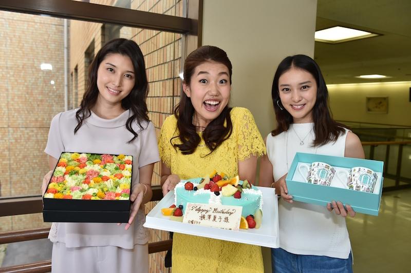 武井咲、滝沢秀明、橋本マナミが、横澤夏子の誕生日をサプライズ祝福!「このメンバーに祝ってもらえるなんて」サムネイル画像