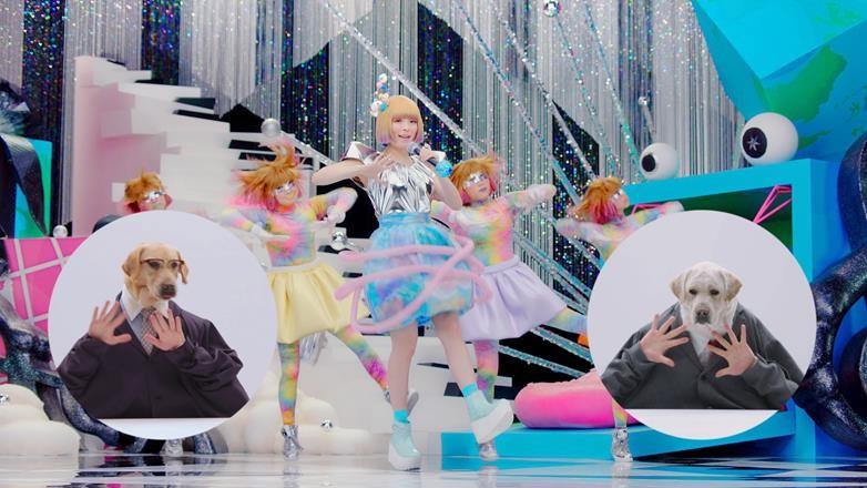 きゃりーぱみゅぱみゅが「ニッシンボー」中田ヤスタカプロデュースVer.を歌う。新CMでお馴染みの犬と共演サムネイル画像