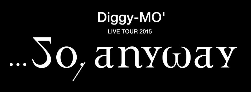 Diggy-MO'、ニューアルバムを引っさげたライブツアーの詳細を発表!サムネイル画像
