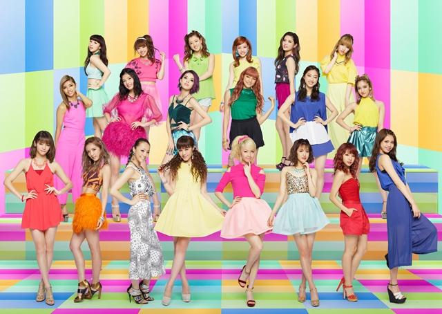 """E-girls、""""次のステージへ""""。3か月ぶりとなるシングル「Go! Go! Let's Go!」のリリース発表サムネイル画像"""