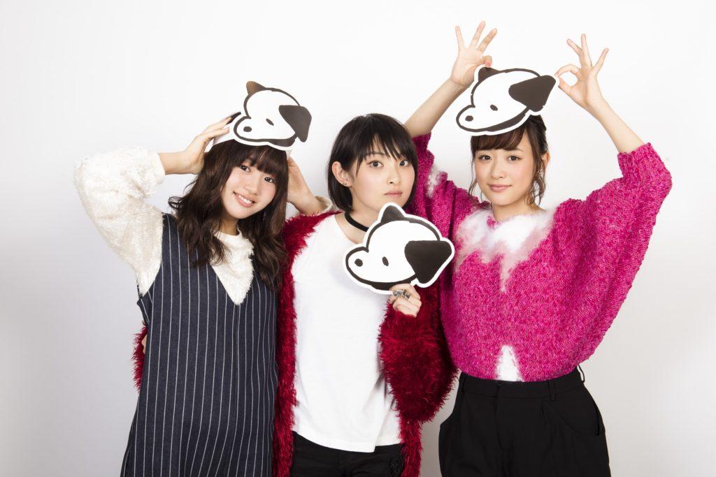 3人揃っての夢の共演が発表された。