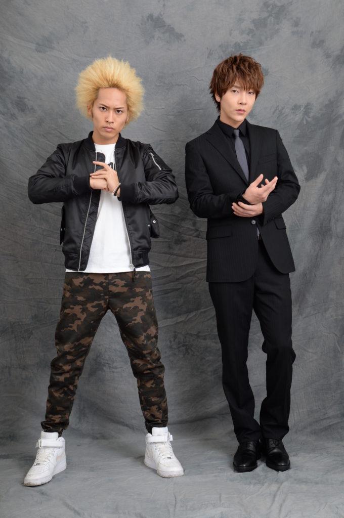 ドラマ「バウンサー」、平埜生成とユナク(超新星)が揃ってクランクイン。「撮影現場は男だらけで楽しい」