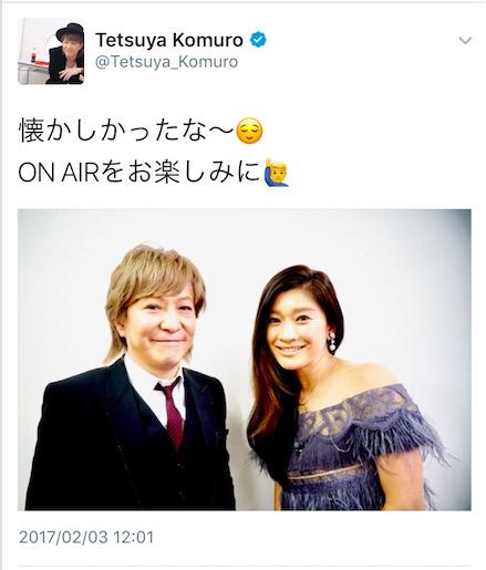 20年ぶりの再会を果たした小室哲哉と篠原涼子。