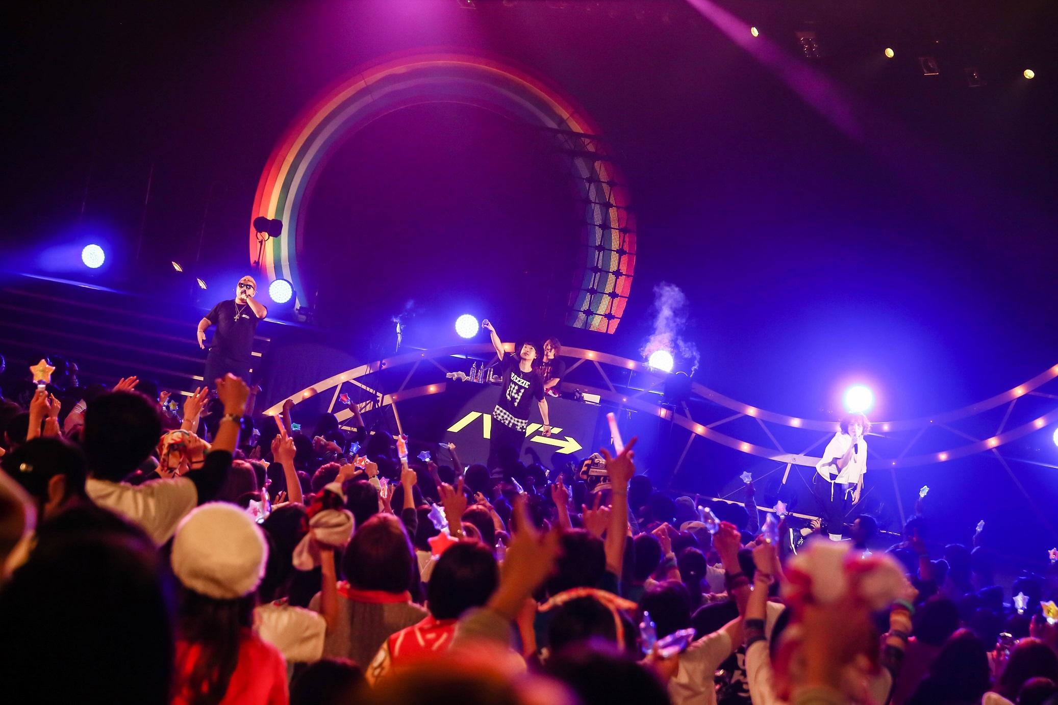 ハジ→15,000人を動員した初の全国ホールツアーファイナル!RED RICE(湘南乃風)、CICO(BENNIE K)がサプライズで登場!