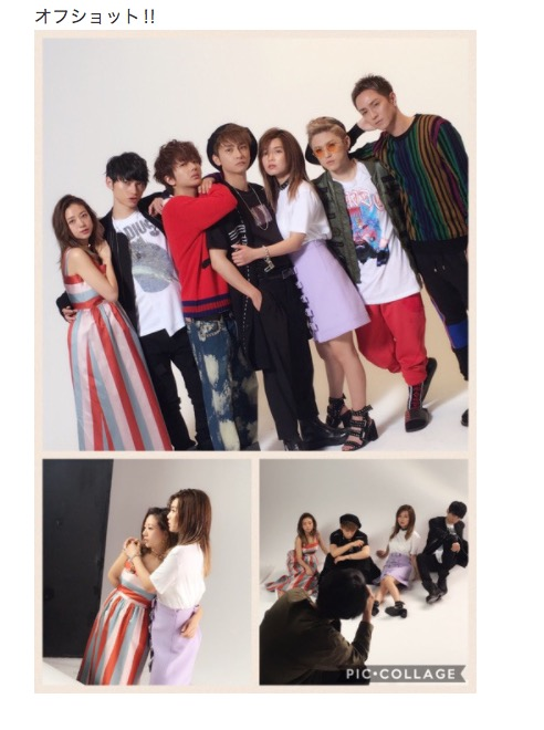 AAA・伊藤千晃、グループ卒業を目前に控えメンバー全員との貴重なオフショットを公開サムネイル画像!