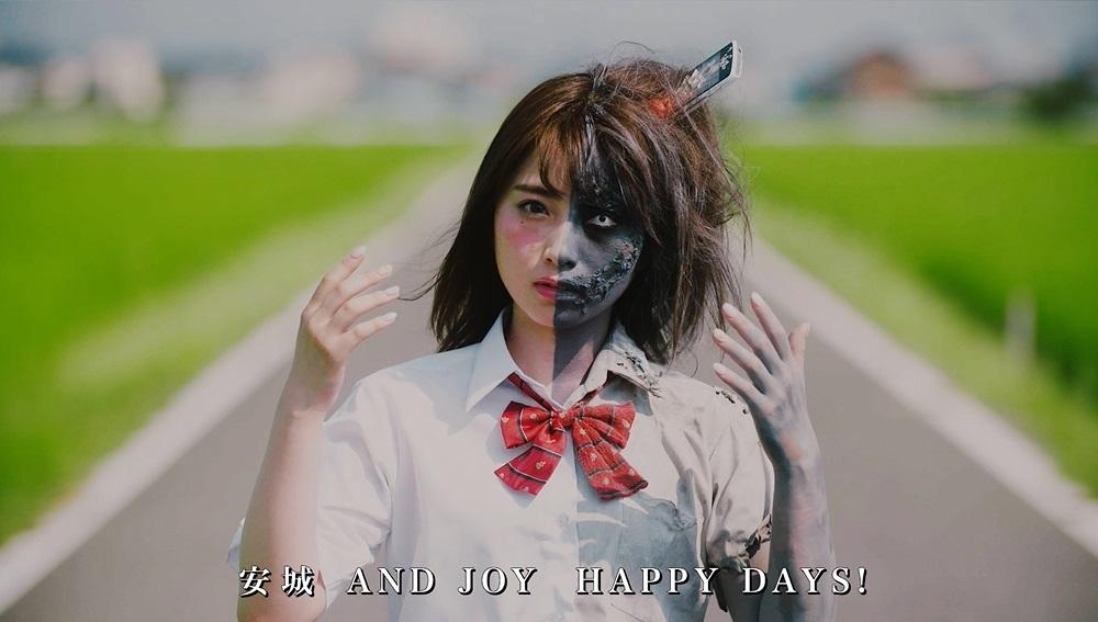 日本一かわいいJKの衝撃ゾンビ姿公開動画が、YouTube急上昇ランキング2位を記録サムネイル画像