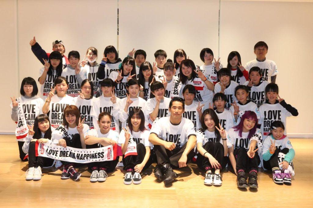 "EXILE・小林直己とE-girlsが仙台で子供達に""夢の課外授業""。「ダンスのいいところ再発見できた」サムネイル画像!"
