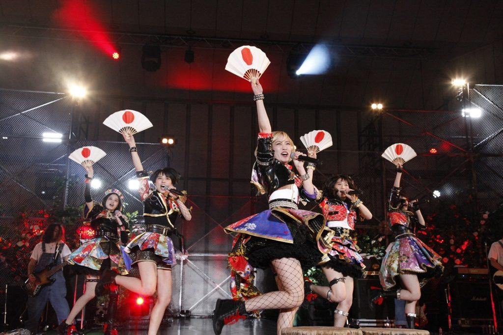 ベイビーレイズJAPAN、日比谷野音で野外ライブ3連戦開幕サムネイル画像!