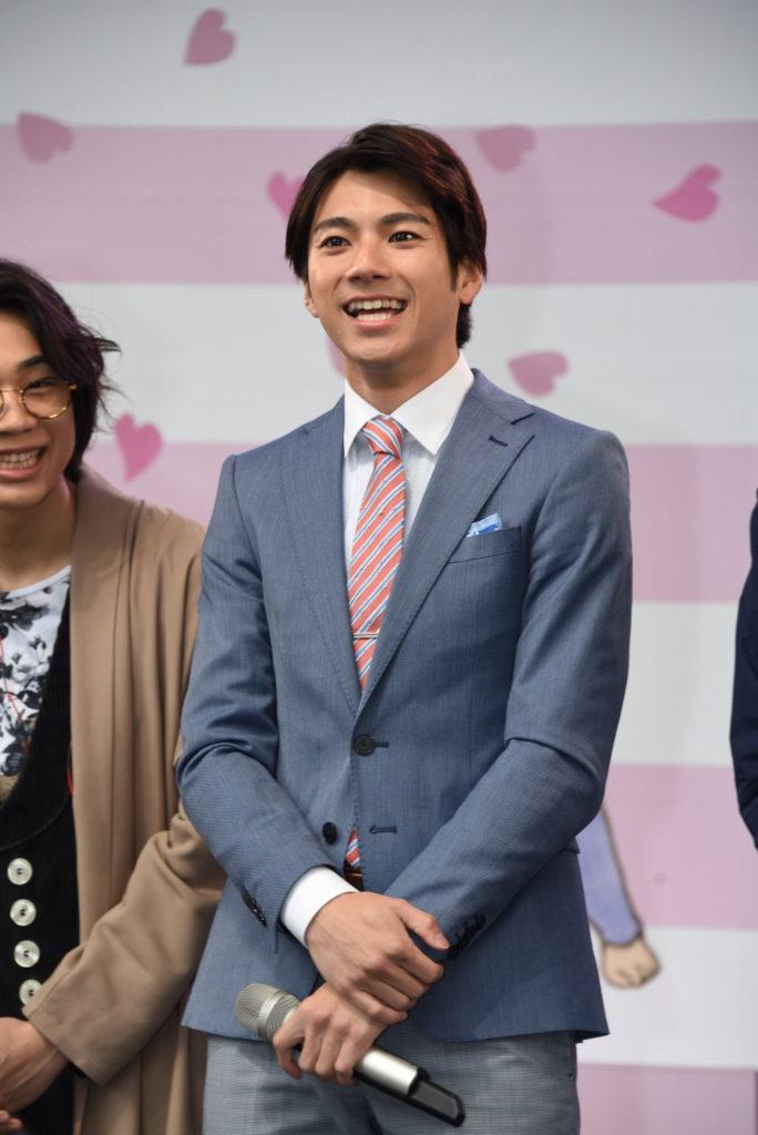 公開制作発表イベントに出席した山田裕貴