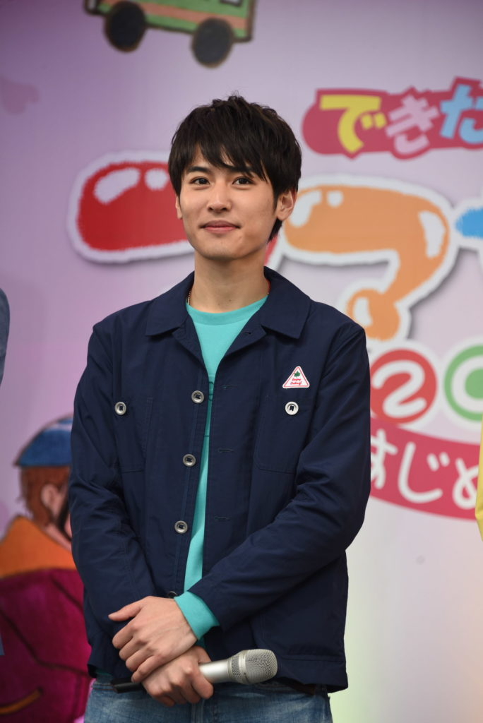 公開制作発表イベントに出席した堀井新太