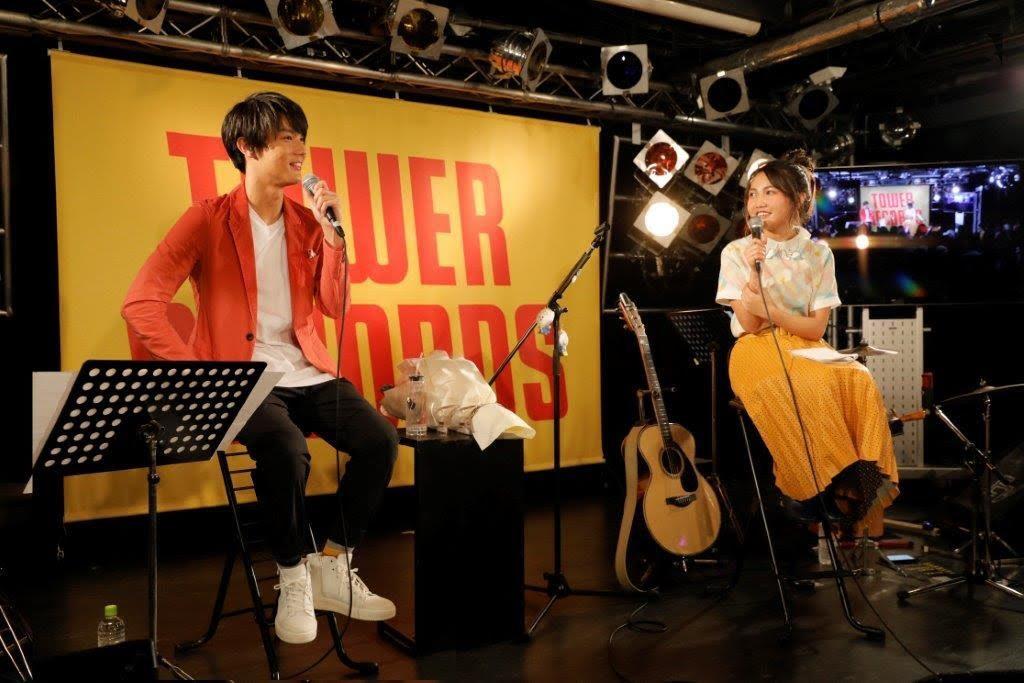 井上苑子のイベントに映画「ReLIFE リライフ」主演の中川大志がゲスト登場。同世代ならではのトークを展開。サムネイル画像