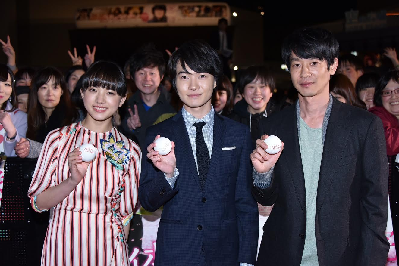 映画『3月のライオン』のイベントに神木隆之介、清原果耶、加瀬亮が登場し、撮影秘話を披露。「休憩時間に神木さんが…」