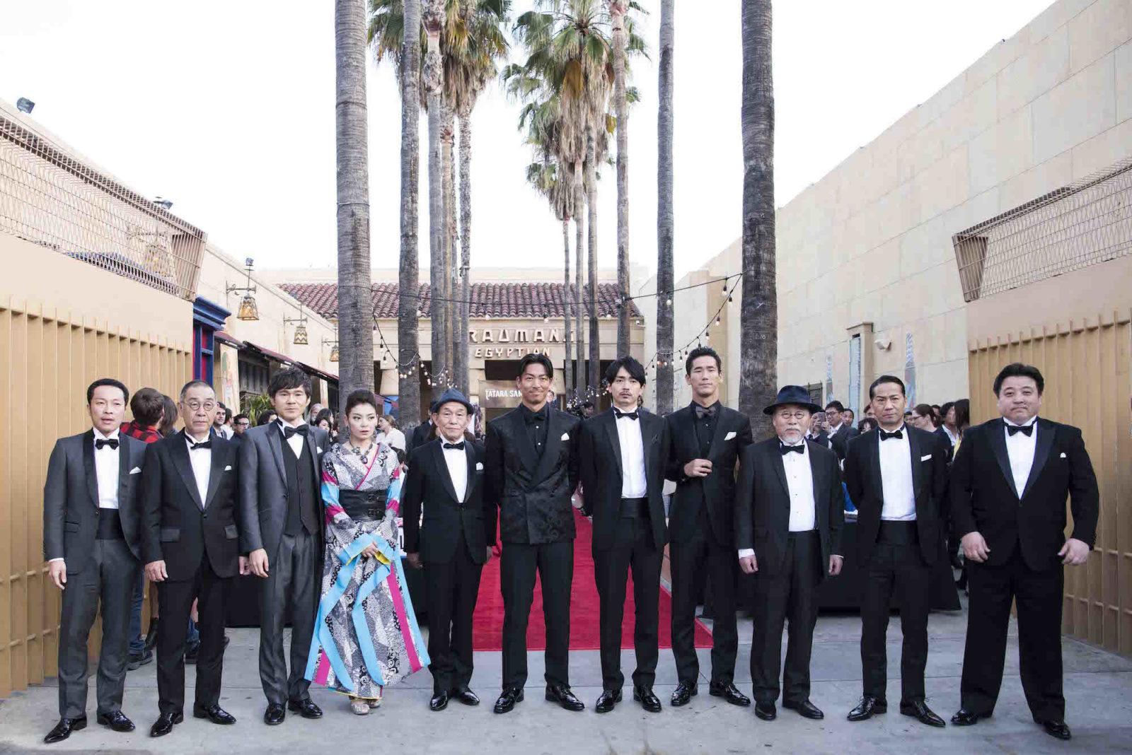 映画「たたら侍」ハリウッドプレミア開催!主演・青柳翔「嬉しいですし光栄です」サムネイル画像
