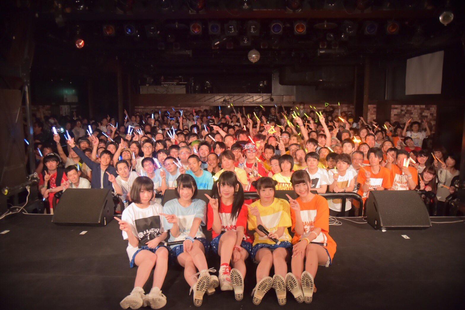 煌めき☆アンフォレント、満員の名古屋クアトロにて、全国ツアーと名古屋クラブダイヤモンドホールでのツアーファイナルを発表!サムネイル画像