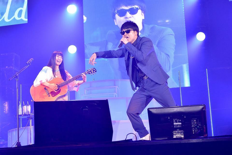 """miwaのアリーナツアーでオードリー若林扮する""""MC.waka""""がラップを披露。観客に「おかしいだろ!」サムネイル画像"""