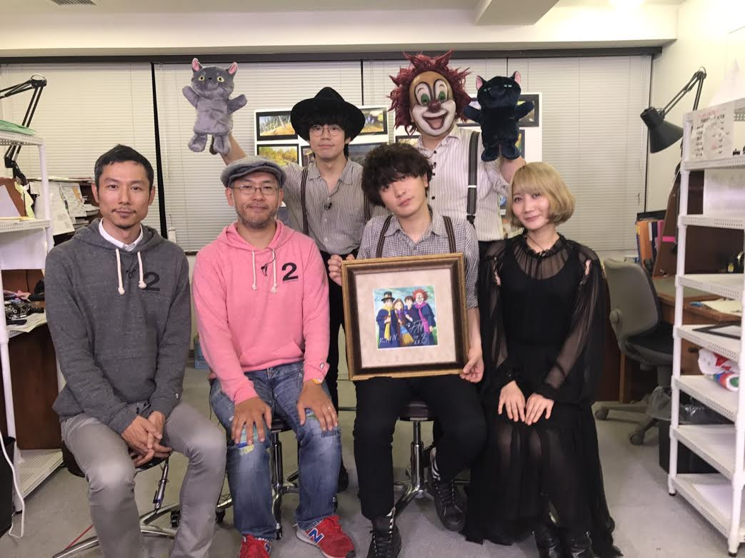 SEKAI NO OWARI、新曲「RAIN」が映画「メアリと魔女の花」主題歌に決定!初回盤ジャケットには米林宏昌監督書き下ろしの4人のイラストも公開サムネイル画像