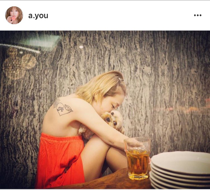 あゆ、タトゥー見せのセクシーショット公開に「痩せた?」「可愛すぎ」の声サムネイル画像