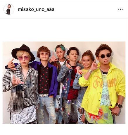 AAA宇野実彩子、メンバー全員ショット公開で「a-natin」ヘッドライナーに感謝の言葉「最高の夏の夜でした」サムネイル画像