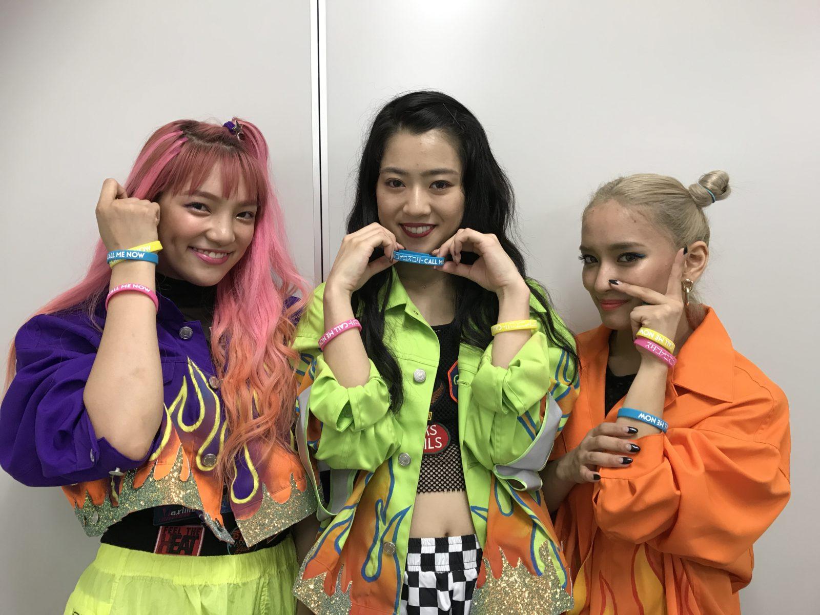 E-girlsメンバーで結成のHIP HOPユニット・スダンナユズユリーの巨大ビジュアルが原宿に出現サムネイル画像