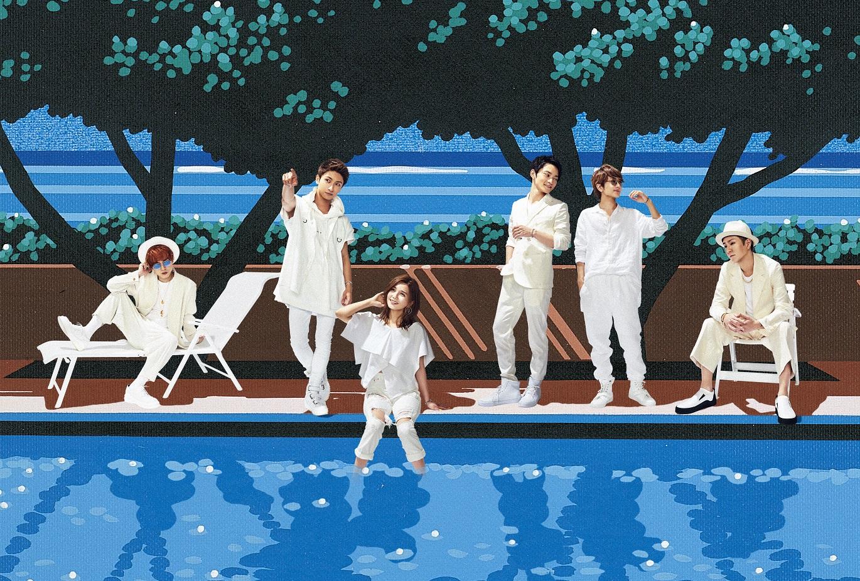 AAA新曲が、篠原涼子×高橋一生×石田ゆり子共演で話題の月9ドラマの主題歌にサムネイル画像