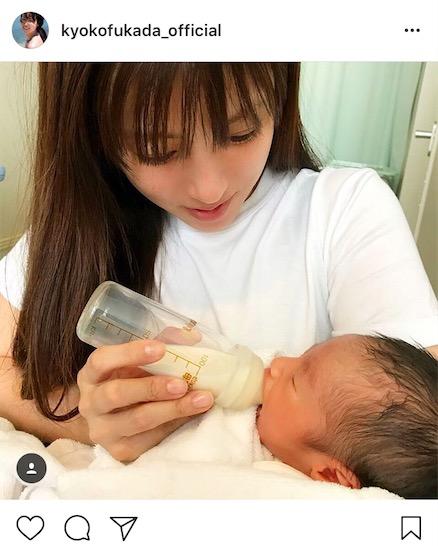 深田恭子、甥っ子誕生報告で抱っこ写真公開に「ママみたい」「甥っ子になりてぇ」「二人とも可愛い」サムネイル画像