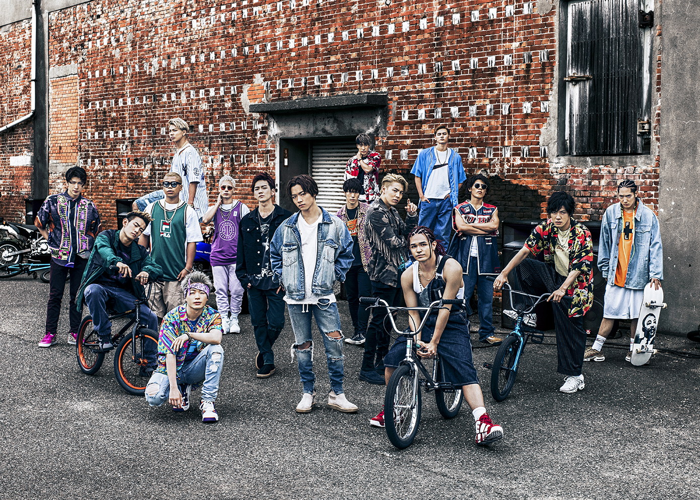 THE RAMPAGE from EXILE TRIBE、初の単独全国ツアーを10箇所11公演で開催サムネイル画像