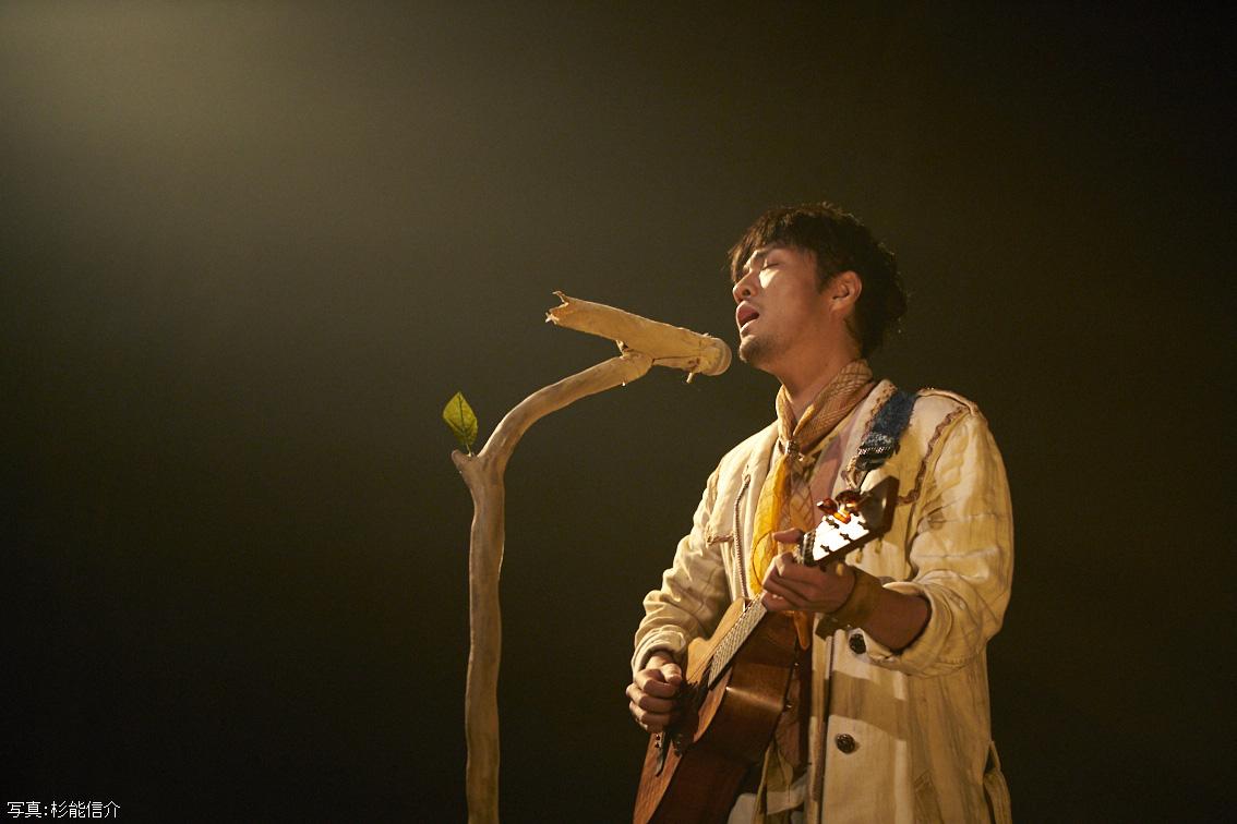 森山直太朗の劇場公演「あの城」を10月22日放送!本人コメントもサムネイル画像