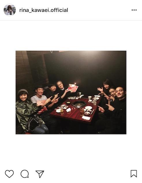 川栄李奈、安達祐実・倉科カナ・佐藤隆太ら豪華俳優陣との食事会写真公開に「仲良しなんですね」「すごい楽しそうなメンバー」サムネイル画像