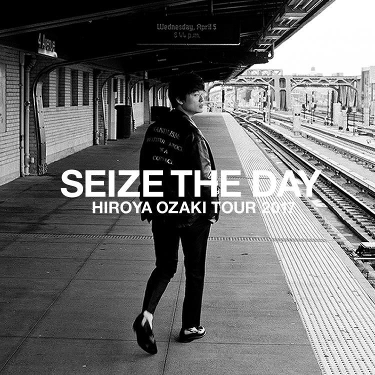 尾崎裕哉、エウレカ主題歌『Glory Days』含む、待望の2ND EP『SEIZE THE DAY』リリースサムネイル画像