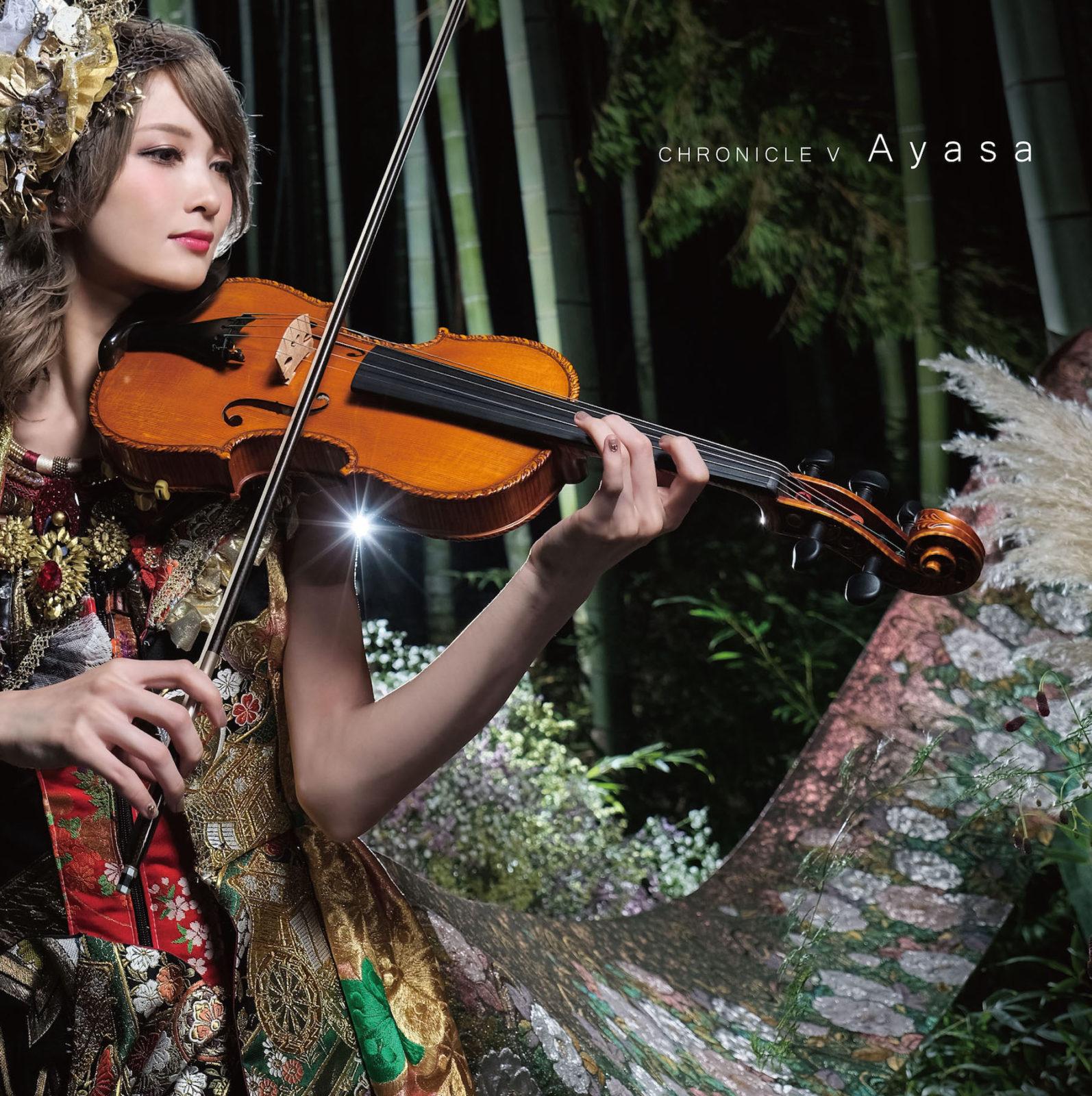 美人すぎるヴァイオリニスト・Ayasaがニューミ二アルバムの発売と初ツアーを発表サムネイル画像