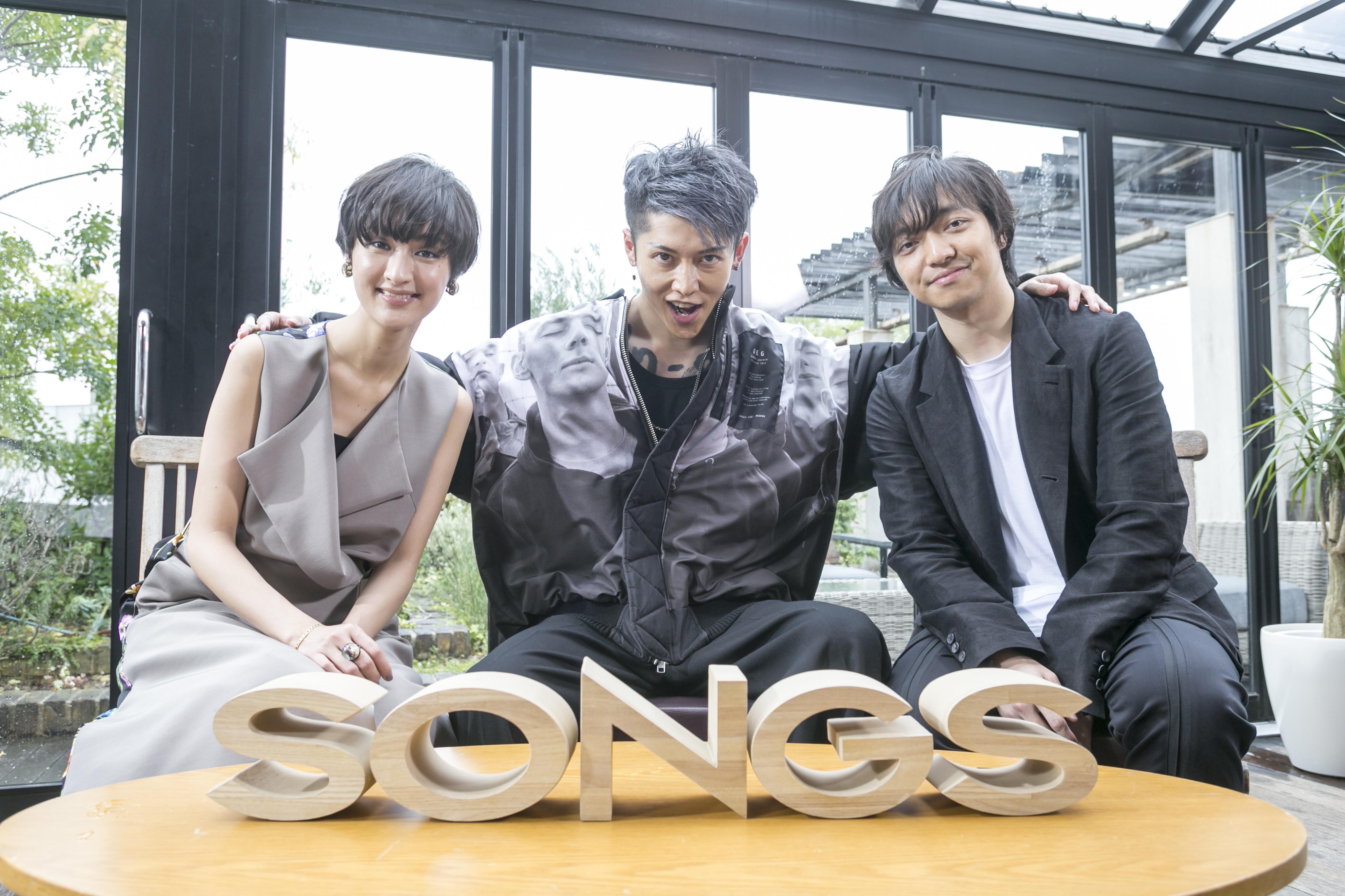 MIYAVI、三浦大知、シシド・カフカと共演!NHK『SONGS』「ザ・セッション~vs MIYAVI~」放送決定