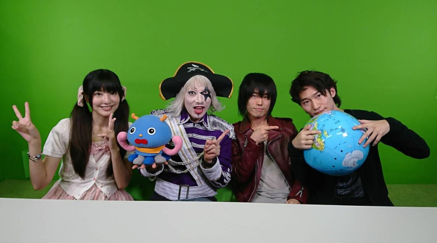 BURNOUT SYNDROMESがゴー☆ジャス動画に出演!新曲MVに芸人・ゴー☆ジャスがゲーム調のラスボスキャラとして登場サムネイル画像