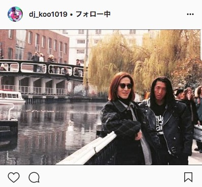 DJ KOO、小室哲哉との23年前のお宝ツーショット公開で誕生日をお祝いしファンは「若い!」「懐かしい写真」サムネイル画像