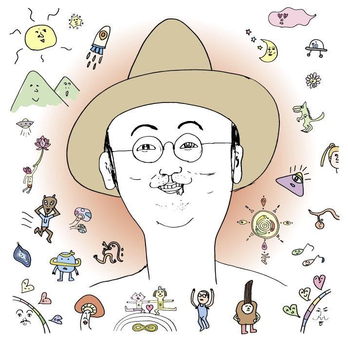 元FUNKY MONKEY BABYSのモン吉 2ndアルバムの似顔絵イラストを盟友・DJケミカルが書き下ろしサムネイル画像