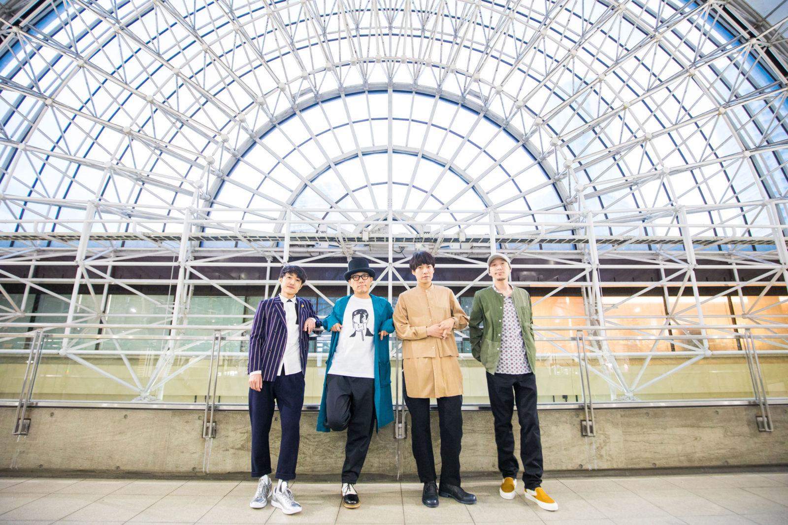 ハナレグミ+フジファブリックのスペシャルユニット「ハナレフジ」アーティスト写真解禁サムネイル画像