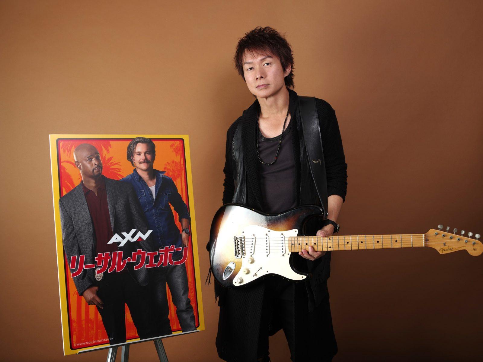 TUBEのギタリスト春畑道哉が海外ドラマ「リーサル・ウェポン」シーズン2 EDテーマを書き下ろし提供サムネイル画像