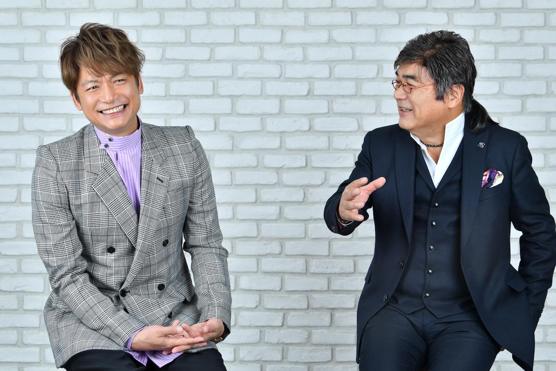 綾小路きみまろと香取慎吾の「師弟」対談実現!2ショット写真も公開サムネイル画像
